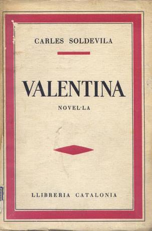 Portada del llibre Valentina, de Carles Soldevila