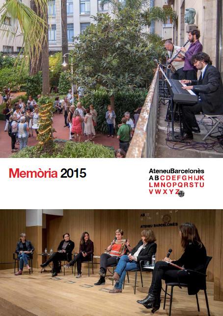 Memòria de l'any 2015