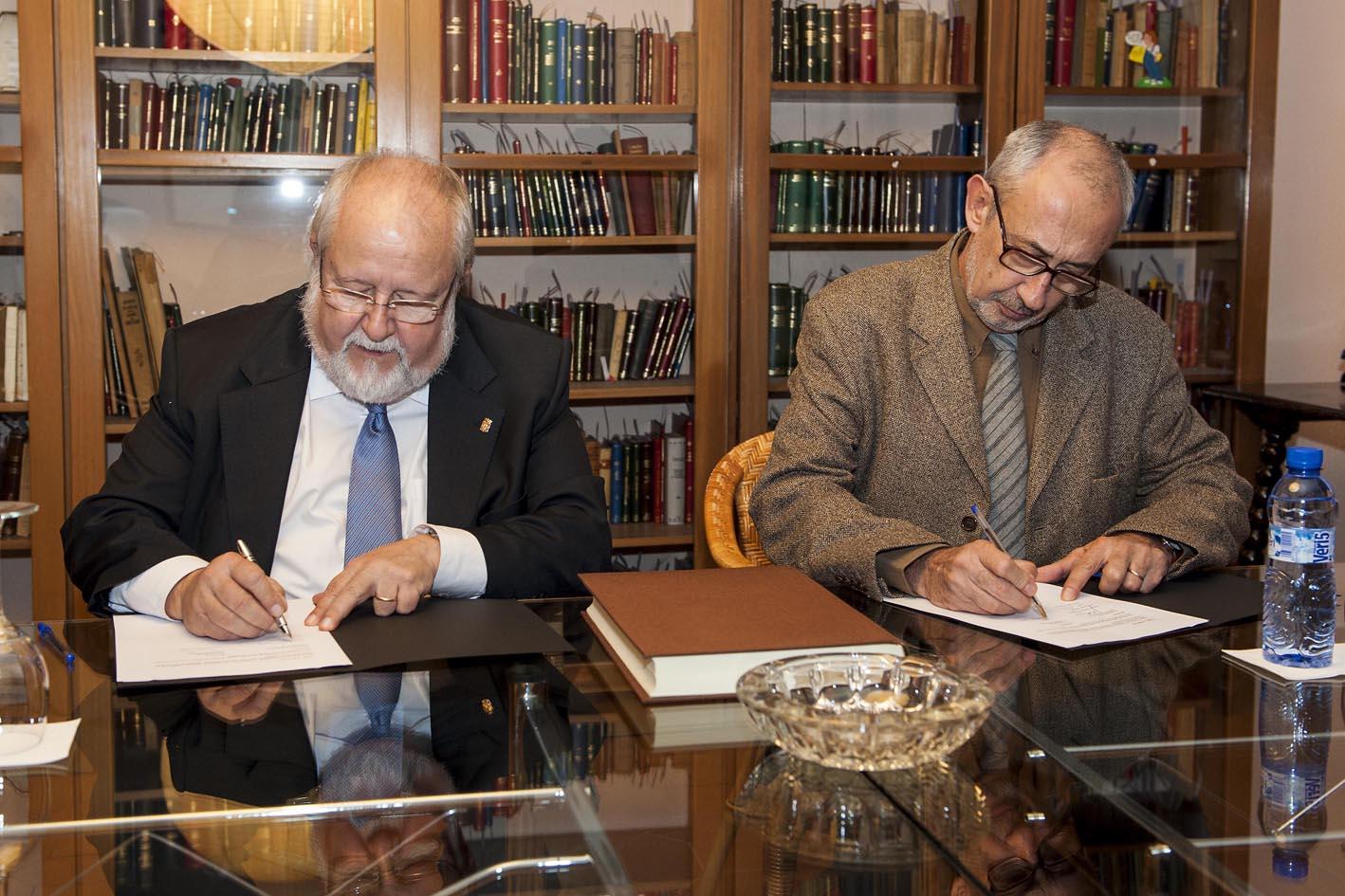 President Diputació i President Ateneu Barcelonès