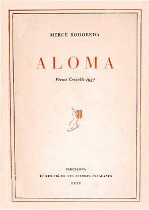 """Portada de l'obra """"Aloma"""", de Mercè Rodoreda"""