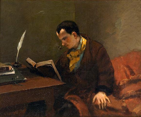 Retrat Charles Baudelaire
