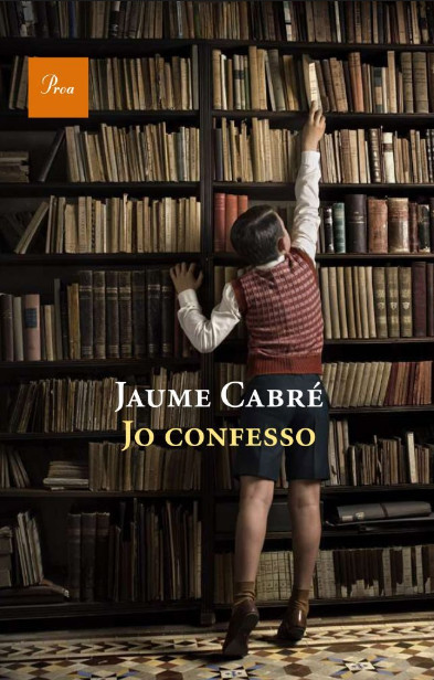 Portada de l'obra Jo confesso, de Jaume Cabré