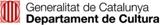 Pàgina web del Departament de Cultura de la Generalitat de Catalunya