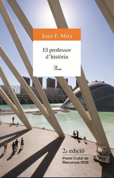 Porta de l'obra El professor d'història de Joan F. Mira