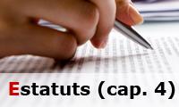 Reglament Estatuts (cap. 4)