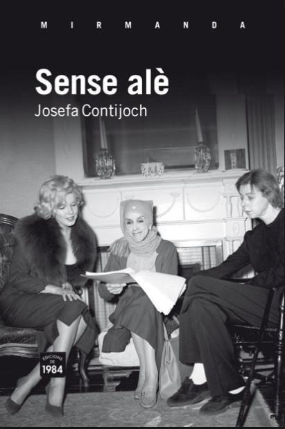 Portada de l'obra Sense alè de Josefa Contijoch