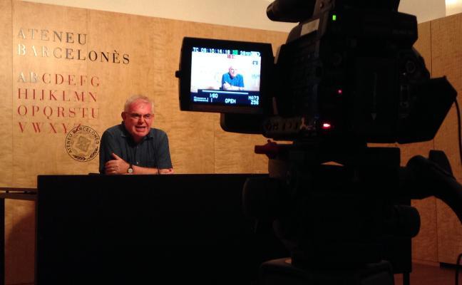 Enregistrament de la conferència de Ramon Alcoberro