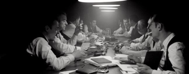 La imatge correspon a una escena rodada a l'Ateneu del film: 14 d'abril, Macià contra Companys de la productora Minoria Absoluta