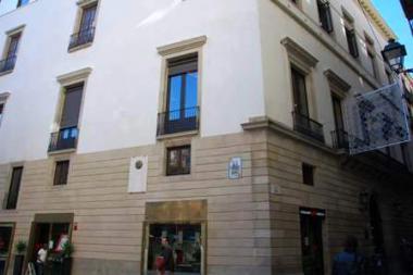 Façana de l'Ateneu Barcelonès