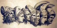 dibuix cares filòsofs